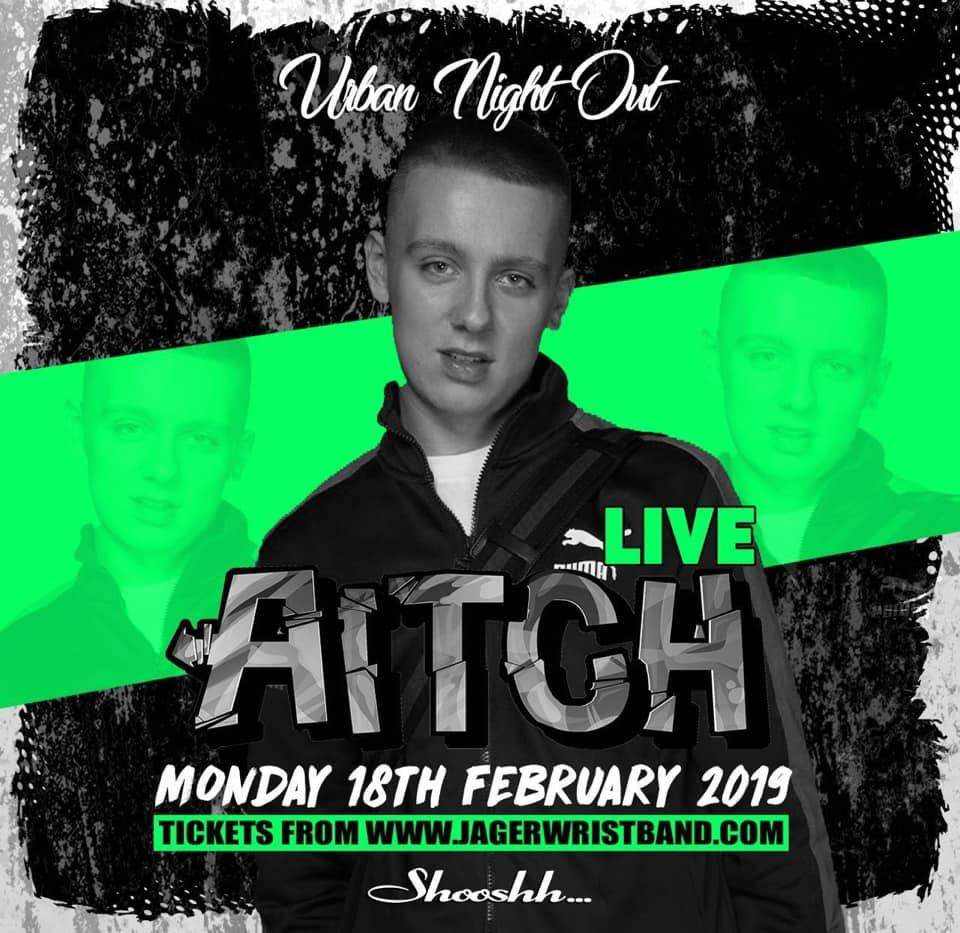 AICH Live at Shooshh Brighton Monday 18th February